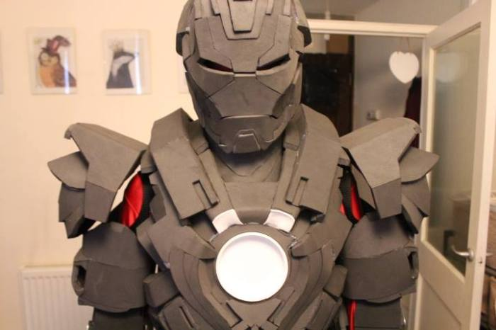 William Selby's Iron Man Suit