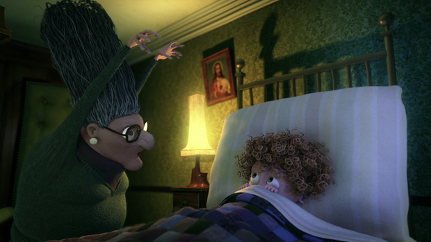 Shane Collins was the Chief Animator on oscar nominated 'Granny O'Grimm's Sleeping Beauty'