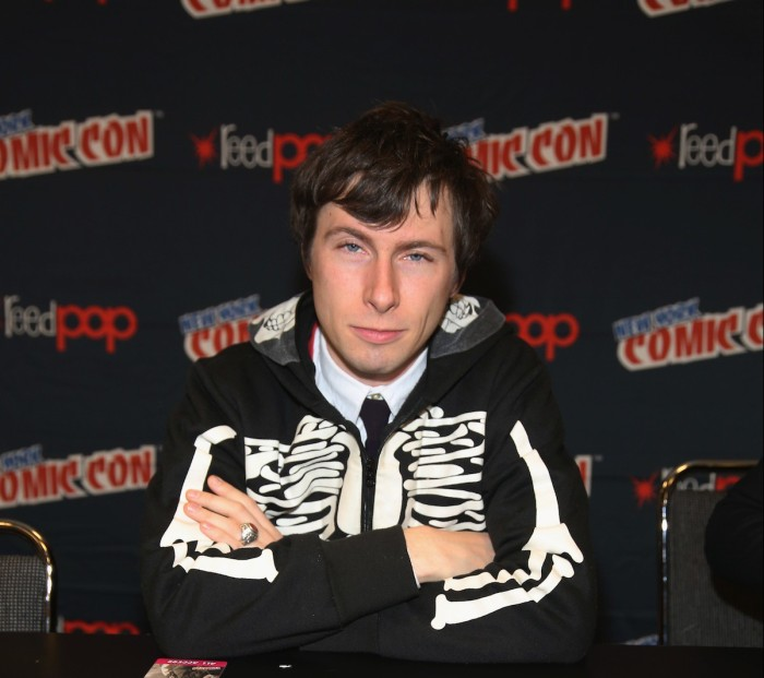 Patrick McHale attends the Cartoon Network Super Panel: CN Anything at New York Comic Con 2014 at Jacob Javitz Center on October 11, 2014 in New York City.  (Photo by Paul Zimmerman/Getty Images for Turner Networks)