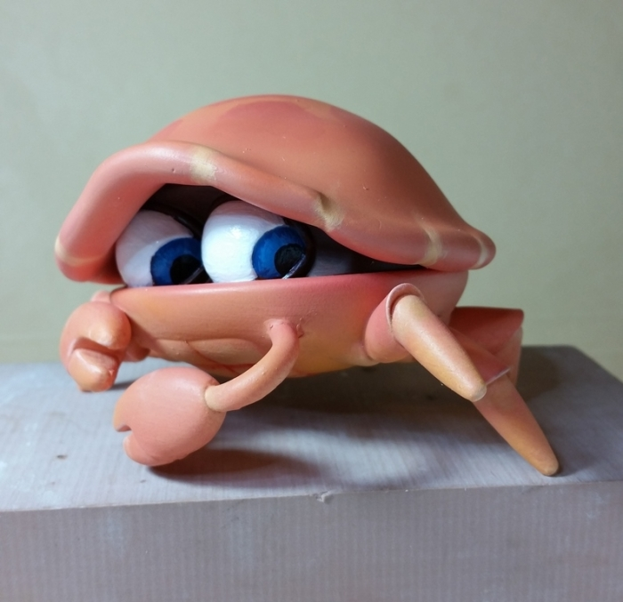 Crabby from 'Trouble in Paradise'