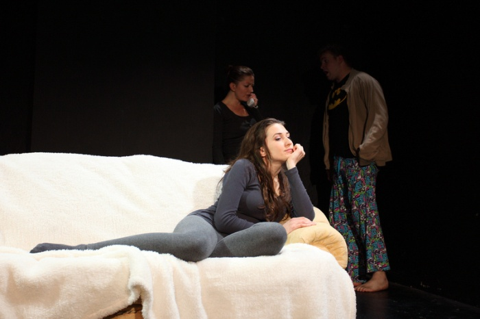 Alicja on stage in 'Scent Of Chocolate'