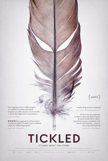 jane o brien media tickled documentary 2016 poster feather poster